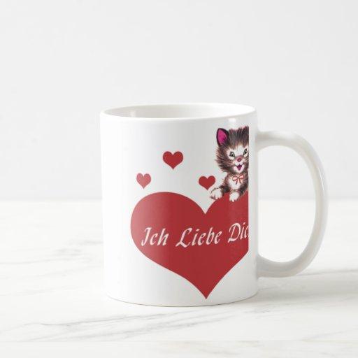 Ich Liebe Dich Mug À Café
