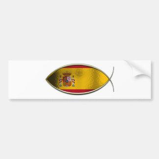drapeau espagnol autocollants stickers. Black Bedroom Furniture Sets. Home Design Ideas