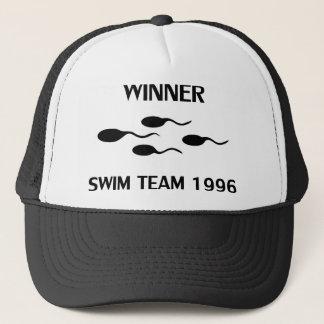 icône 1996 d'équipe de natation de gagnant casquette