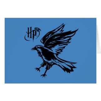 Icône de Harry Potter | Ravenclaw Eagle Carte De Vœux