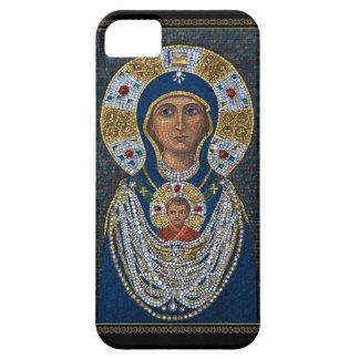 Icône de mosaïque d'île de Murano Coque Barely There iPhone 5
