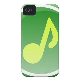 Icône de musique étuis iPhone 4