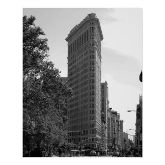Icône de New York City - affiche