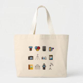 Icône de photographie sac en toile jumbo