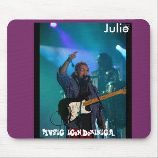 Icône Julie de musique Tapis De Souris