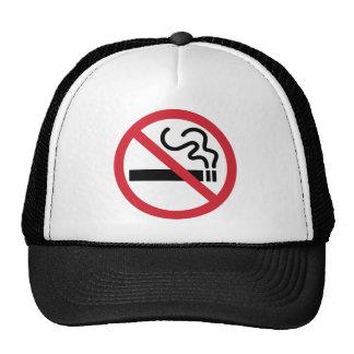Icône non-fumeurs casquettes de camionneur