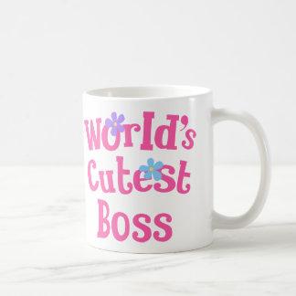 Idée de cadeau de patron pour elle mondes les plu tasses
