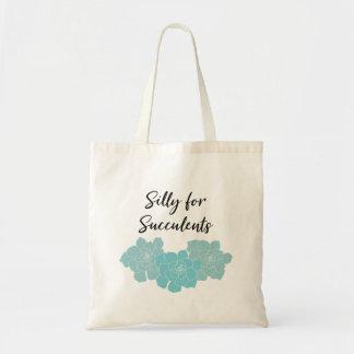 Idiot pour le sac fourre-tout à Succulents