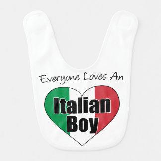 Iedereen houdt van de Italiaanse Slab van de Baby Slabbetje