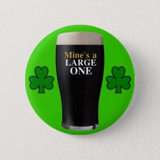 Iers Kenteken Ronde Button 5,7 Cm