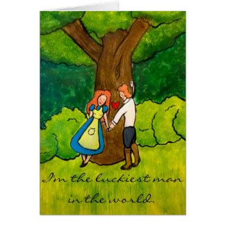 """""""Ierse Minnaars"""" - Gelukkig Jubileum van hem Briefkaarten 0"""