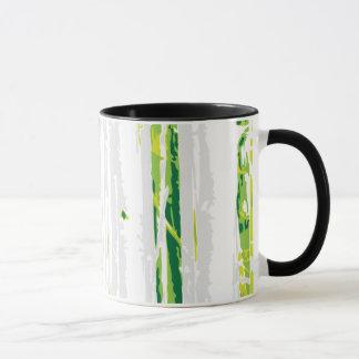 II - art moderne - forêt verte sauvage Mug
