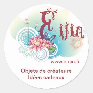 Ijin Ronde Sticker