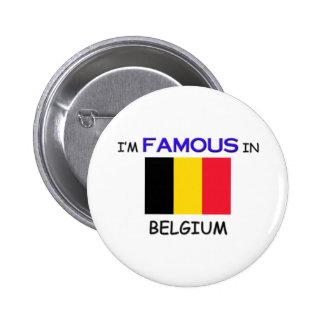 Ik ben Beroemd in BELGIË Ronde Button 5,7 Cm