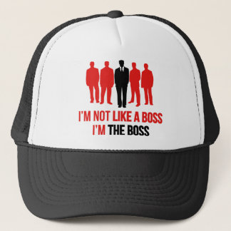 Ik ben niet als een Werkgever. Ik ben de Werkgever Trucker Pet