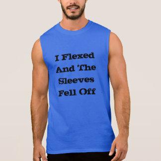 Ik boog en de Sleeves vielen weg T Shirt