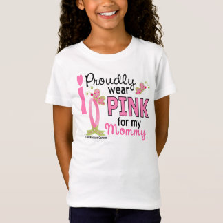 Ik draag Roze voor Mijn Mama 27 Kanker van de T Shirt