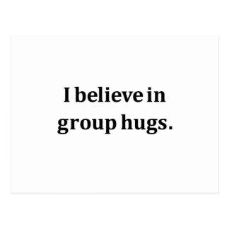 Ik geloof in de Omhelzingen van de Groep Wenskaarten