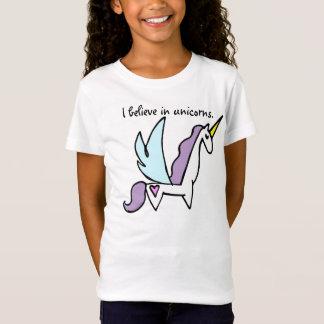 Ik geloof in eenhoorns t shirt