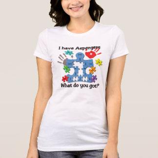 Ik heb Grappige Unieke T-shirt Aspergers