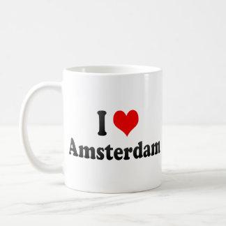Ik houd van Amsterdam, Nederland Koffie Mok