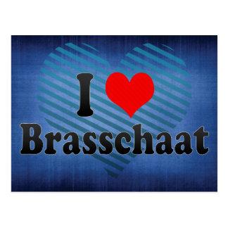 Ik houd van Brasschaat, België Wens Kaarten