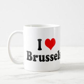 Ik houd van Brussel, België Koffie Mokken