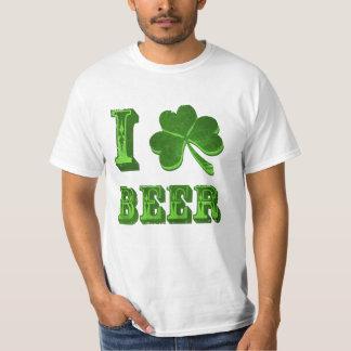 Ik houd van de Klaver St. Patrick Day Funny T Shirt
