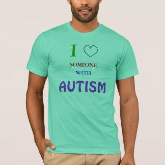 Ik houd van iemand met autisme t shirt