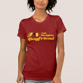 Ik houd van mijn Belgische Vriend T Shirt