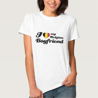 Ik houd van mijn Belgische vriend Tshirt