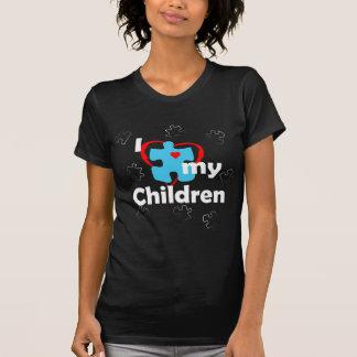 Ik houd van Mijn Kinderen - Autisme T Shirt