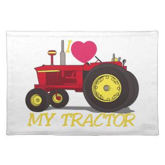 Ik houd van Mijn Tractor Placemat