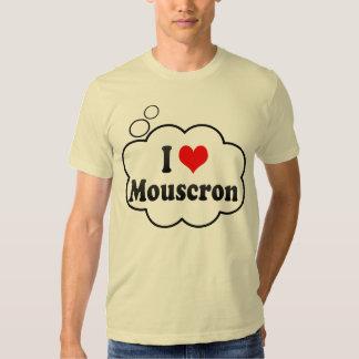 Ik houd van Mouscron, België T Shirt