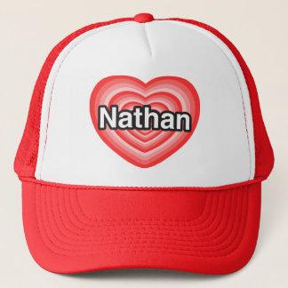 Ik houd van Nathan. Ik houd van u Nathan. Hart Trucker Pet