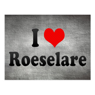 Ik houd van Roeselare, België Wenskaarten