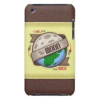 Ik houd van u aan de Maan en de Rug - iPod het Hoe iPod Touch Hoesje