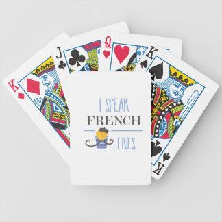 Ik spreek het Frans… Gebraden gerechten Bicycle Speelkaarten