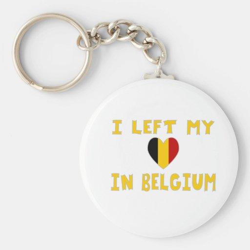 Ik verliet Mijn Hart in België Sleutelhanger