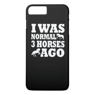 Ik was Normaal 3 Paarden geleden iPhone 8 Plus / 7 Plus Hoesje