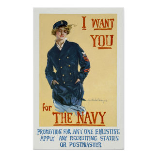 Ik wil u poster