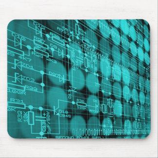 IL carte de pointe d'ordinateur de programmeur Tapis De Souris