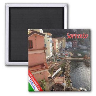 IL - côte de l'Italie - d'Amalfi - Sorrente Magnet Carré