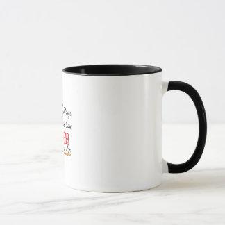 il effiloche avec phrase mug