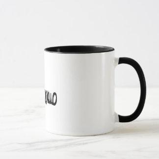 Il effiloche B/N Mug