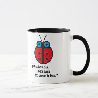 Il effiloche coccinelle mug