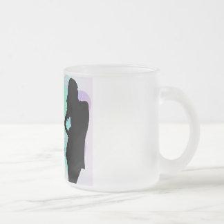 Il effiloche de cristal tasse givré
