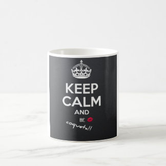 il effiloche keep calm blanche mug blanc