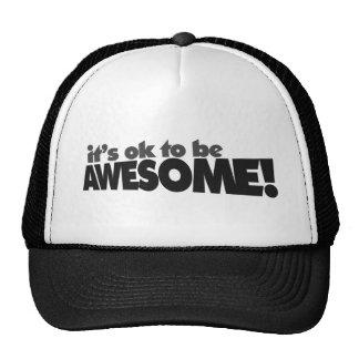 Il est correct d être impressionnant casquette