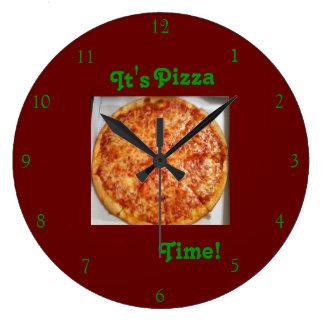 Il est temps de pizza ! Horloge